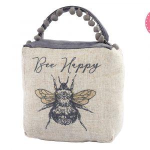 13 Bee happy doorstop