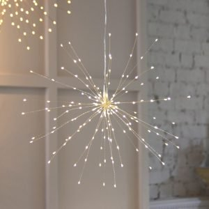 19 Starburst lights 50cm