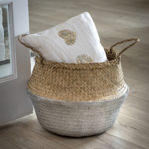 2 Seagrass baskets