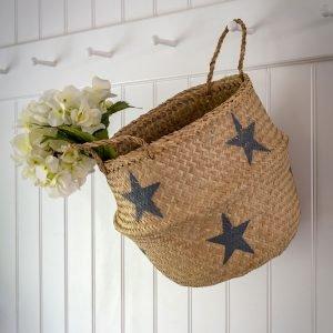 33 Seagrass star basket